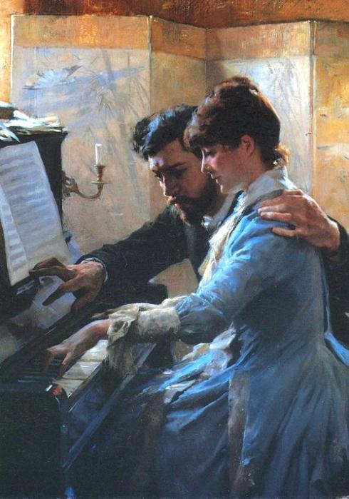 Albert_Edelfelt_-_Playing_the_Piano